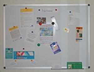 Info Board für Kreative